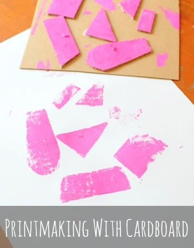 printmaking- cardboard printmaking is a great way to introduce kids to printmaking • Artchoo.com
