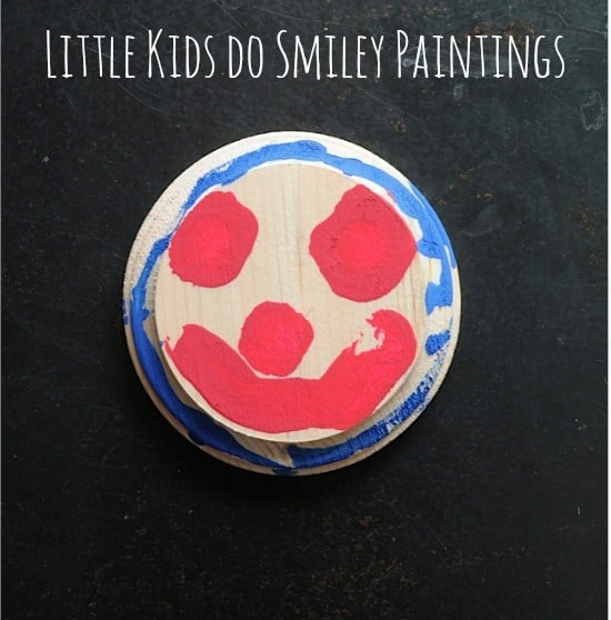 Art Project For Little Kids Smiley Paintings You Can Keep And Hang Up All Over