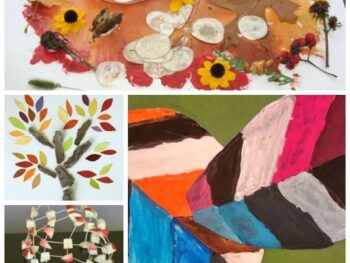 24 awesome Fall art projects for kids • Artchoo.com