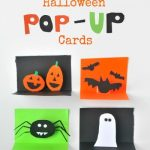 DIY Halloween Pop-up Cards