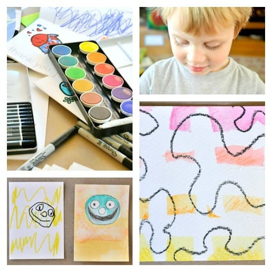 Experimenting with eco art supplies • Artchoo.com