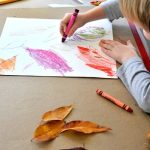 2 Leaf Art Projects For Young Kids