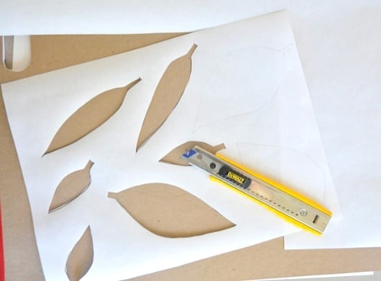 cutting from freezer paper