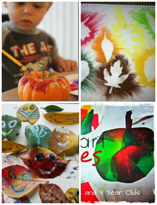 24 awesome Fall art projects for kids