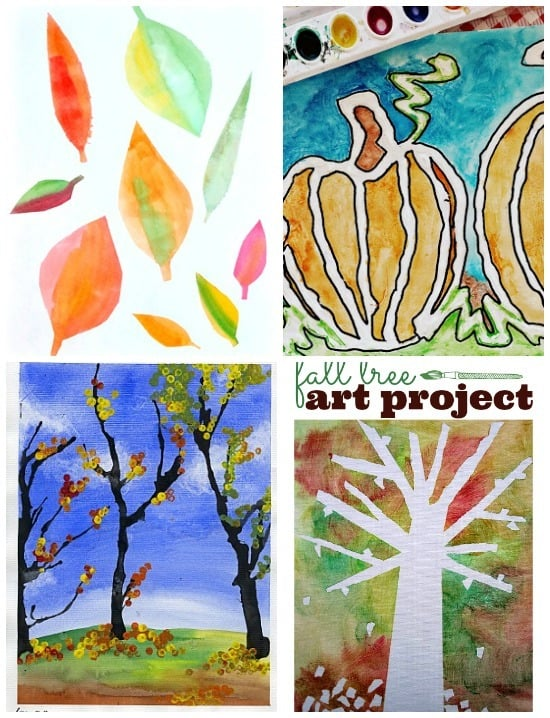 24 best fall art projects for kids ever craftwhack for 4th grade craft projects
