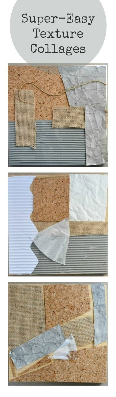 Easy Texture Collage Project