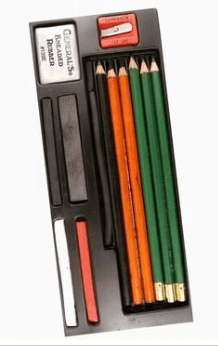 mixed media drawing supplies