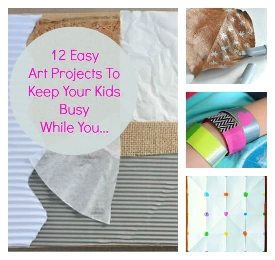 12 easy art projects