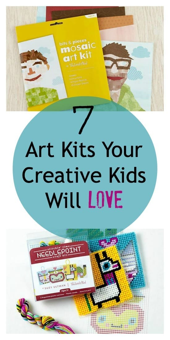 Awesome art kits for kids