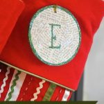 Super Sparkly Christmas Stocking Tags