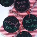 DIY Scratch Paint Gift Tags