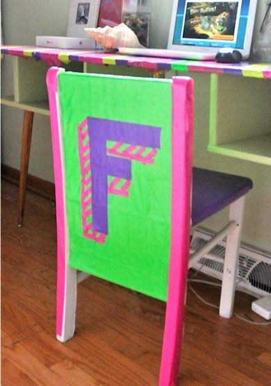 Duct tape furniture Cardboard Cool Duct Tape Ideas Cover Your Furniture Craftwhack Cool Duct Tape Ideas Cover Your Furniture Craftwhack