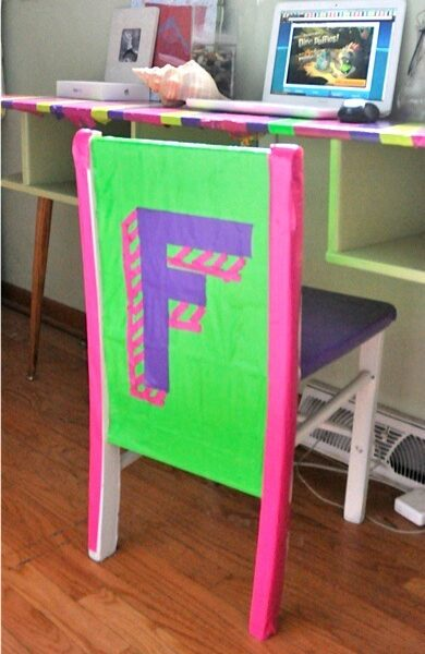 Cool Duct Tape Ideas: Cover Your Furniture