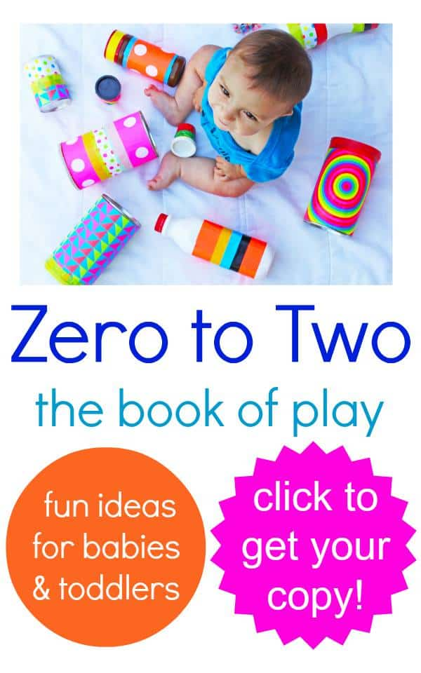 Zero to Two- the book of play (25 activities for your wee ones)