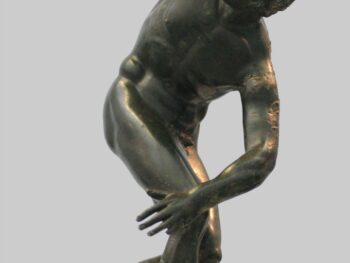 Greek statue discus thrower - Discobolos - Art History for Kids • Artchoo.com