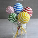 DIY Paper Mache Pencil Toppers
