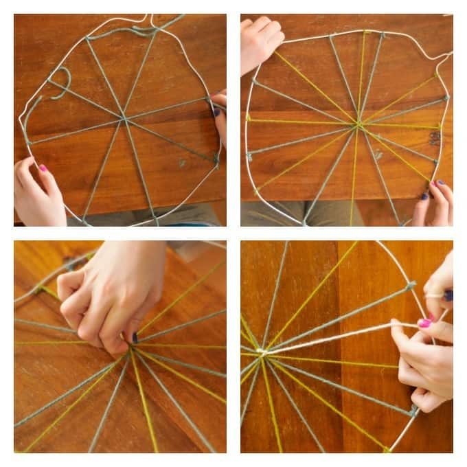 coat hanger weaving • Artchoo.com