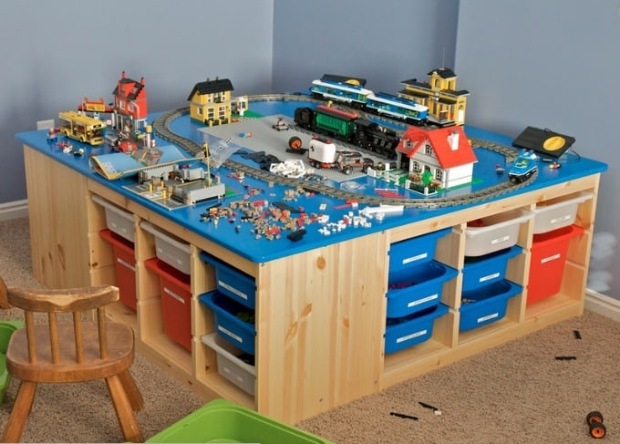 5 awesome diy lego tables craftwhack for Clement boisvert meuble trois rivieres