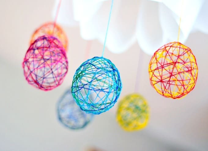 string egg craft