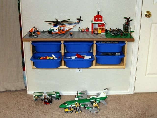 5 awesome diy lego tables craftwhack - Ikea trofast lego table ...