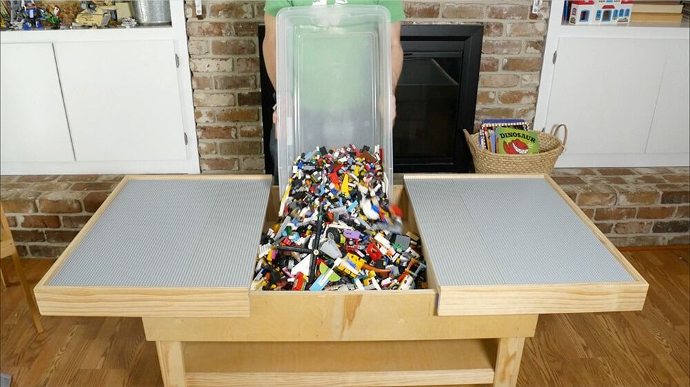 15 Awesome Diy Lego Tables 183 Craftwhack