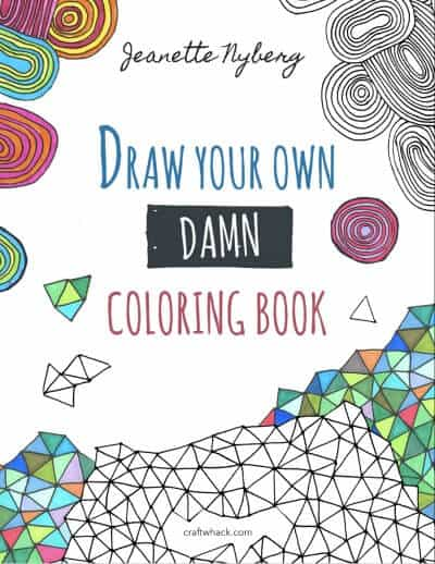 Totally easy zentangle craftwhack offers up the same amazing relaxation benefits as zentangle you follow each set of easy directions to make your own damn coloring pages fandeluxe Image collections