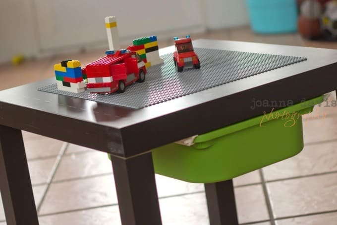 5 awesome diy lego tables craftwhack for Ikea lack lego table
