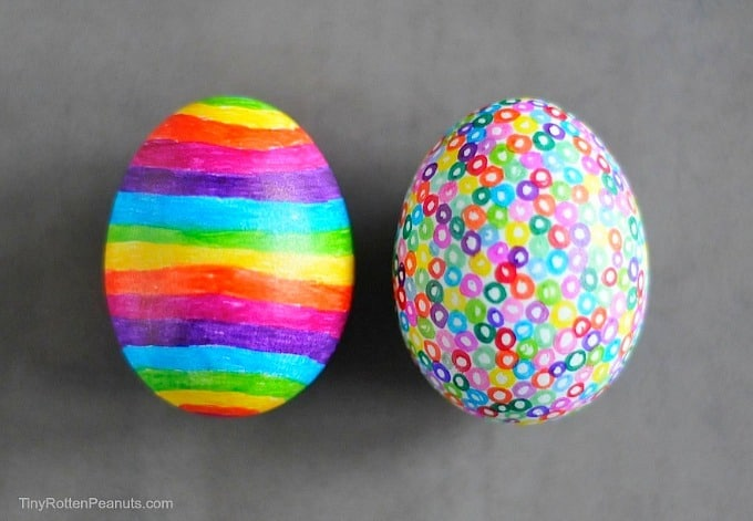 Sharpie eggs from Craftwhack.com