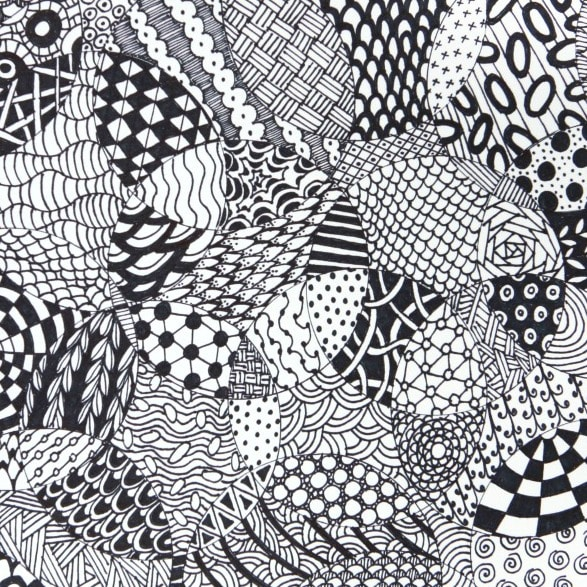 Totally Easy Zentangle Craftwhack Amazing Zentangle Pattern Ideas