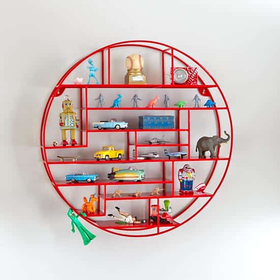 Awesomely cool kids' wall shelf