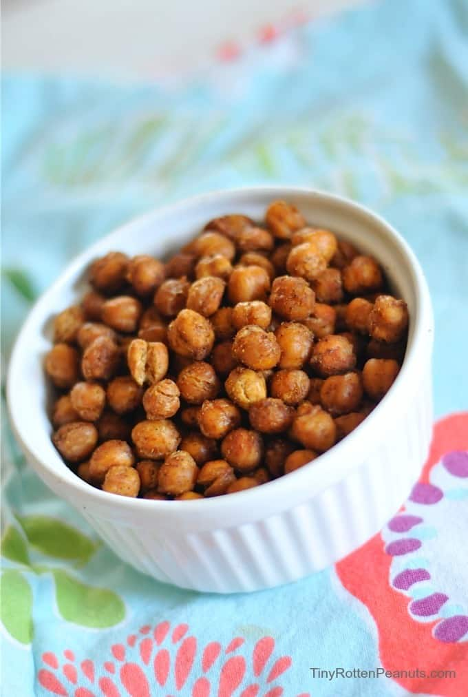 roasted Bombay spice chickpeas knockoff