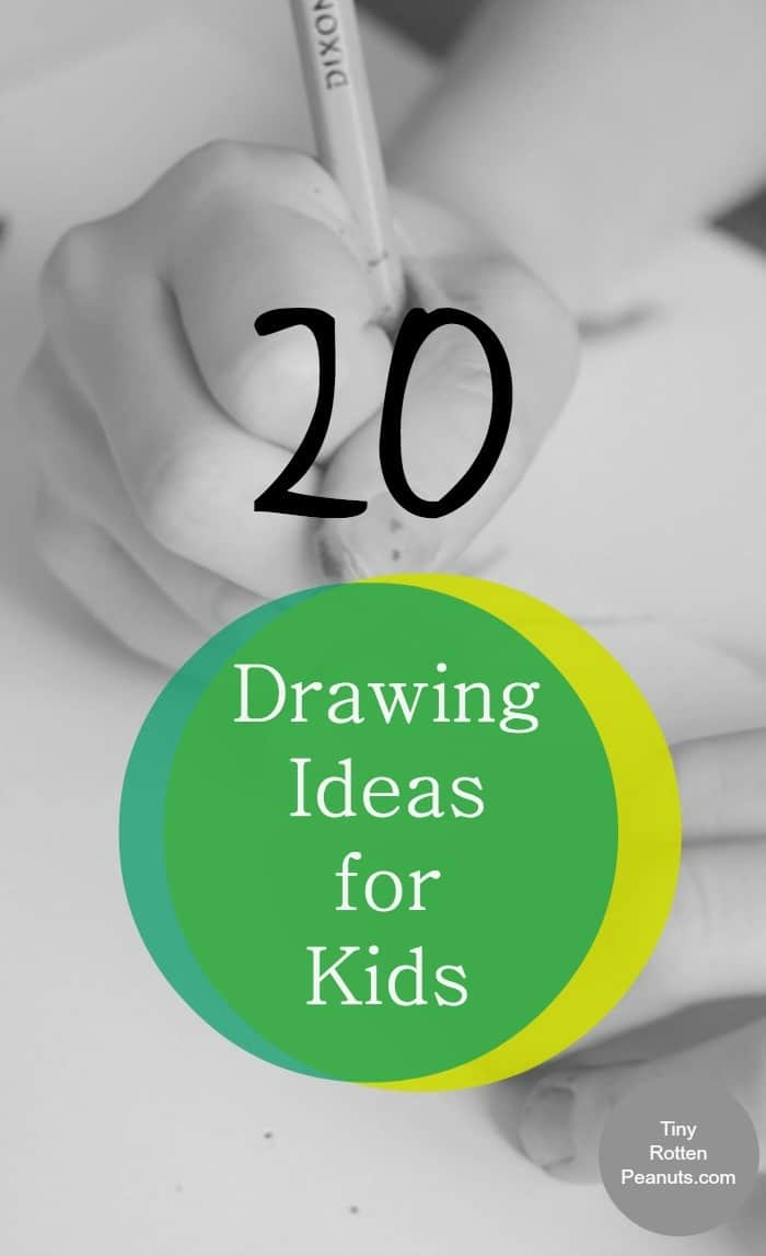 20 drawing ideas for kids for Creative simple