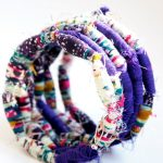 DIY Fabric Bead Bracelet
