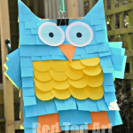 DIY Easy Simple Cute Teriffic Owl Pinata