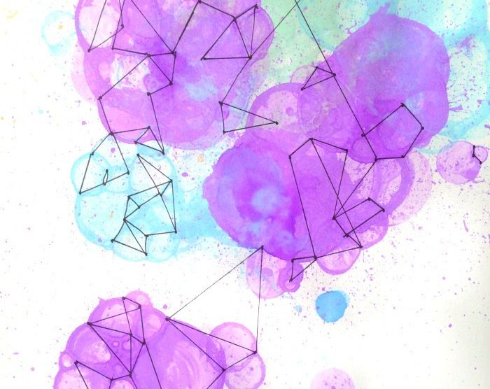 do some bubble geometry drawing