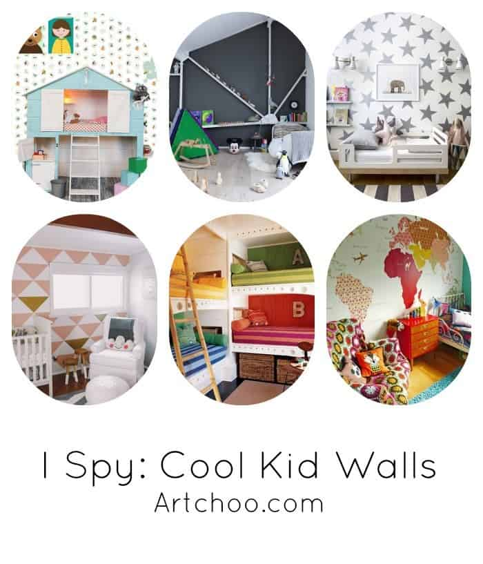 6 awesome kids' room wall ideas