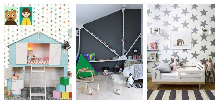 cool ideas for kids' walls