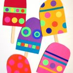 Giant Paper Popsicle Craft
