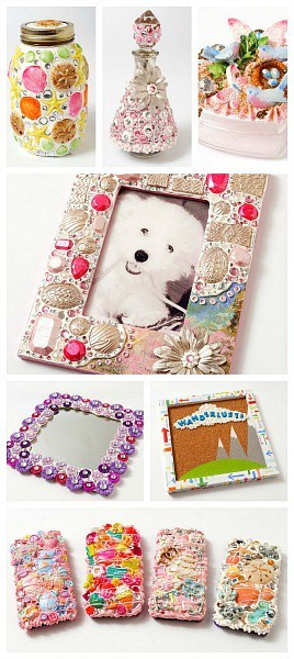 Mod-Podge-Collage-Clay-Decoden