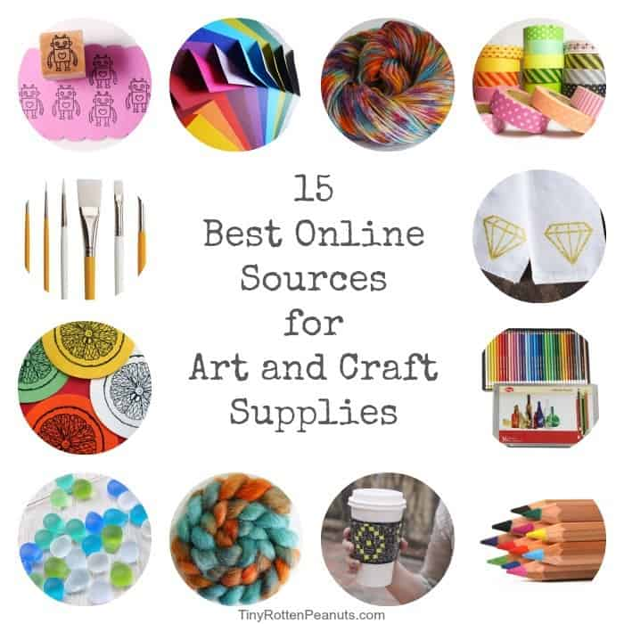 15 super places to buy art and craft supplies online for Places to sell art online