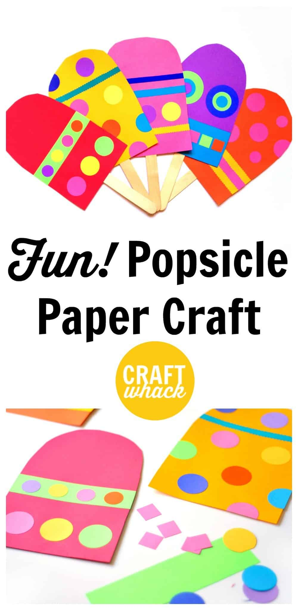 popsicle paper craft
