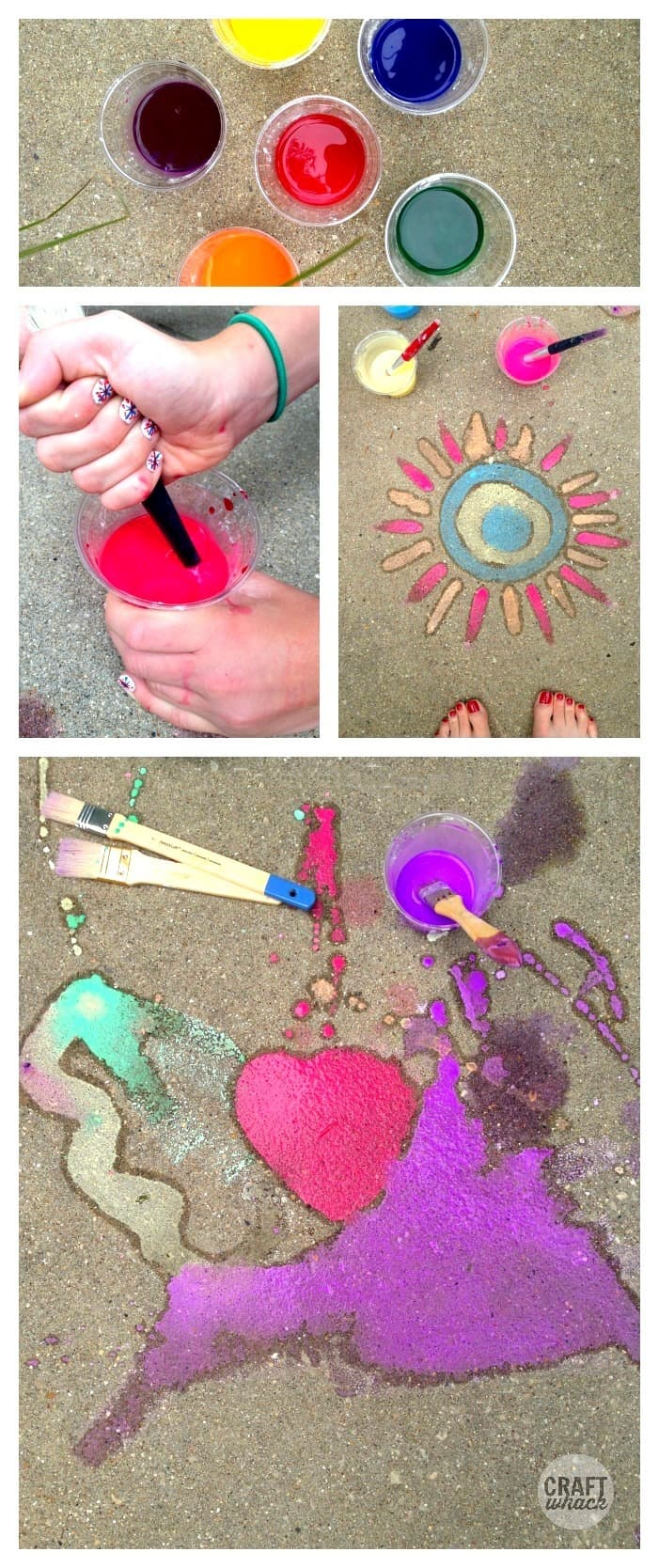 sidewalk chalk paint diy