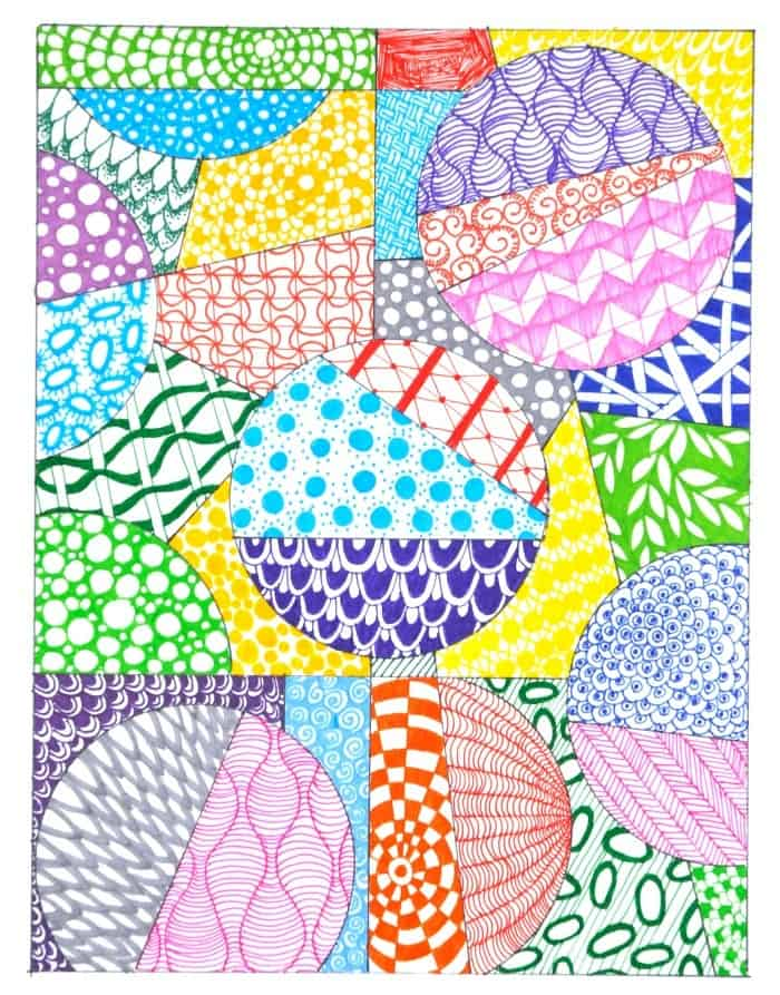 Inspired By Zentangle Patterns And Starter Pages Craftwhack Unique Zentangle Pattern Ideas