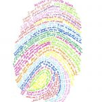 Cool Art Project for Kids: Thumbprint Self Portrait