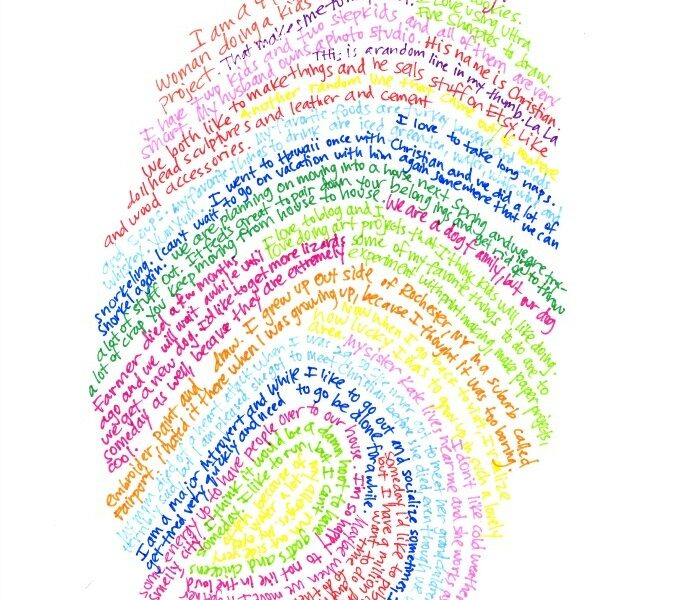 Cool Art Project For Kids Thumbprint Self Portrait Craftwhack