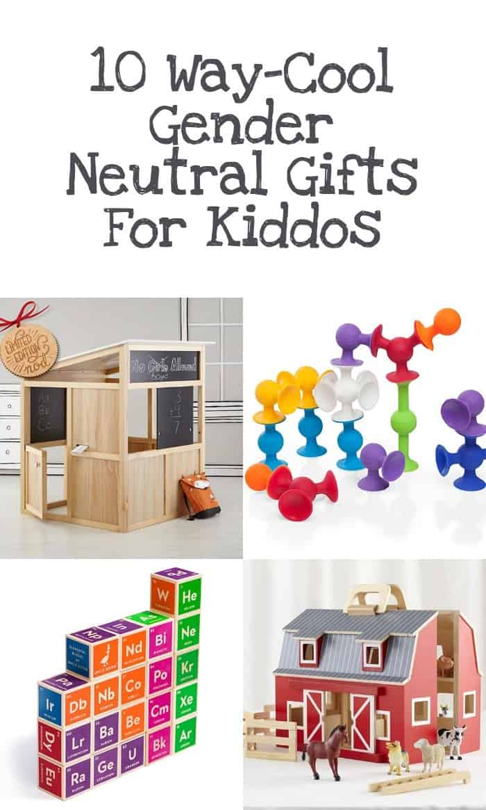 10 gender neutral gift ideas for kids