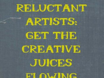 Gift Ideas for reluctant artists- kids who are shying away from creating or adults who've abandoned their creativity