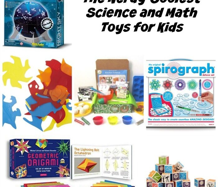 Coolest science and math toys for kids