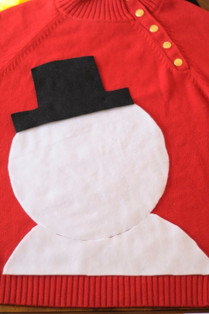 the making of an ugly sweater!
