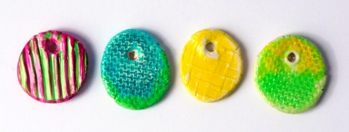 Diy texture clay pendants craftwhack how to make the diy pendants audiocablefo